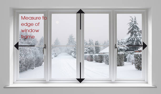 Measuring your window frames for secondary glazing