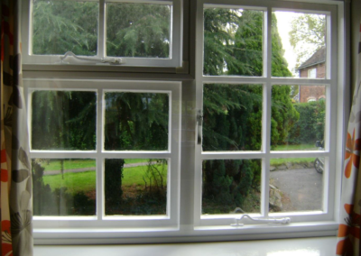 Condensation disappears when Ecoease glazing panel is installed