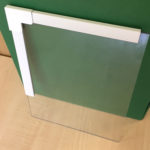 Sample piece of Ecoease glazing