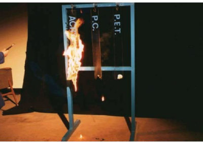 Flammability test - Acrylic