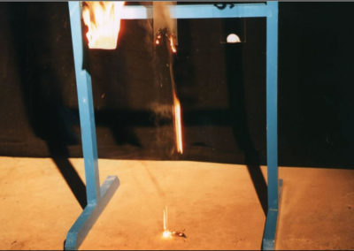 Flammability test - Polycarbonate