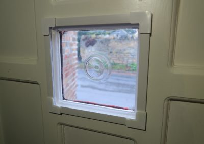 Measure to fit panel installed and stops condensation