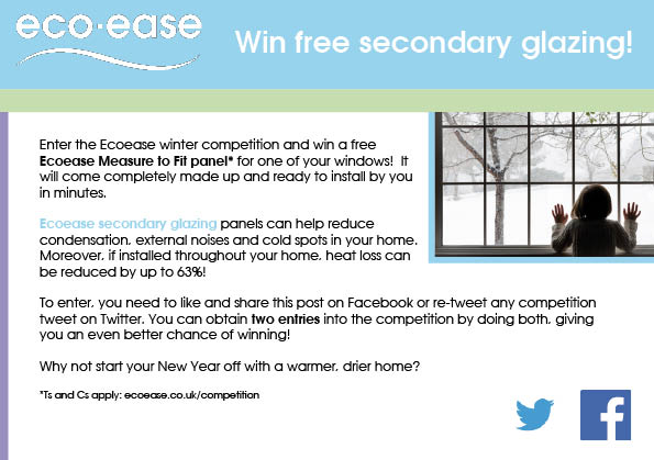 Win a free glazing panel